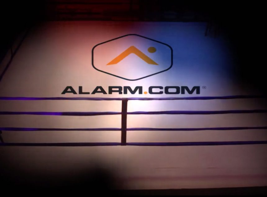 alarm dot com fight night